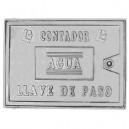 REGISTRO ALUMINIO CONTADOR 22X35 C/LLAVE