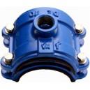 """COLLARIN PVC/PE 4T 110 1 1/2"""" AZUL"""